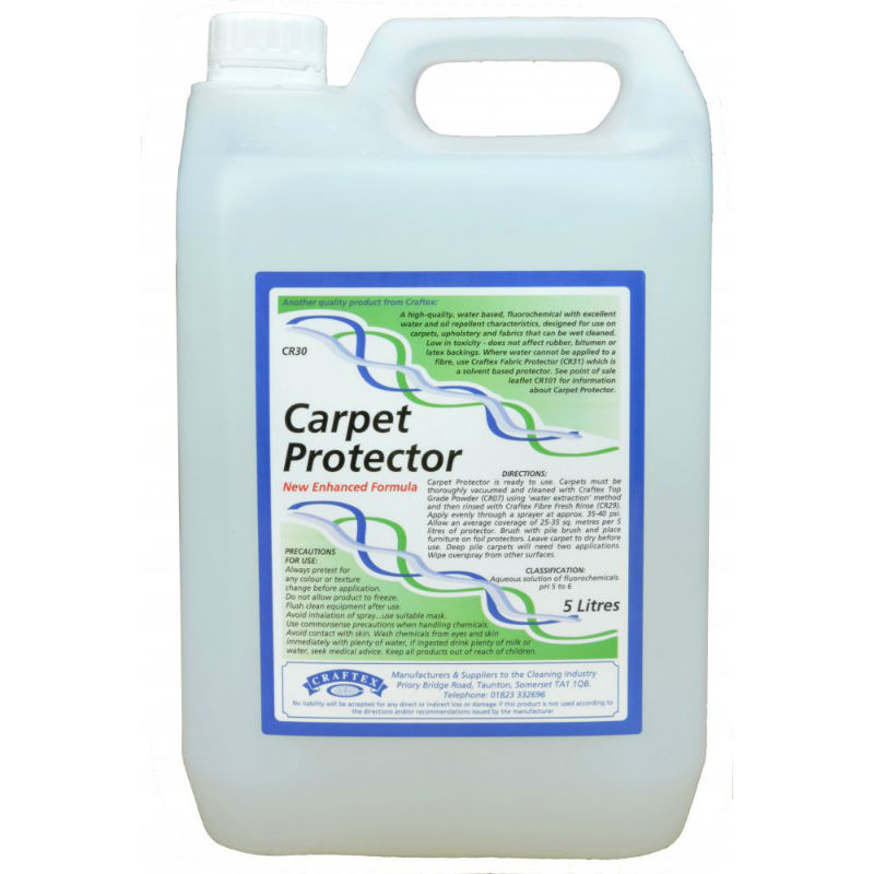 Craftex Carpet Protector With Dupont Fluorochemical Foremost