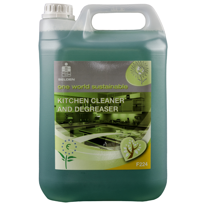 Kitchen Cleaner: Ecoflower Kitchen Cleaner & Degreaser Concentrate