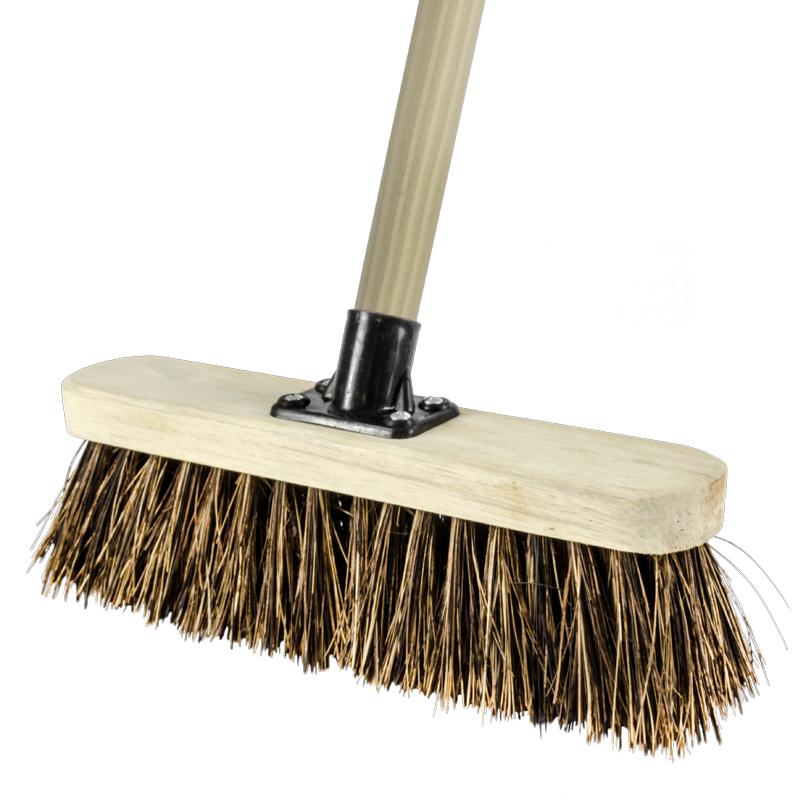 12 Quot Stiff Broom Complete Brooms Brooms Amp Brushes