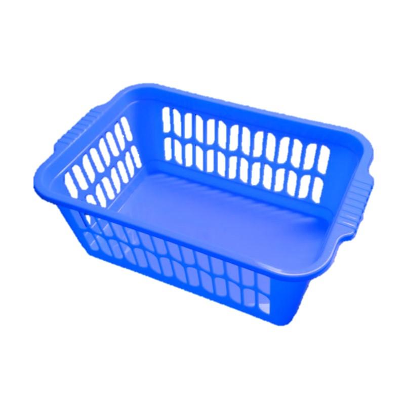 Blue Plastic Basket 30x20x11cm Buckets Floor Cleaning