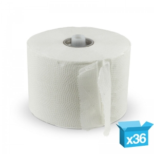 2ply white Matic toilet rolls 720sh