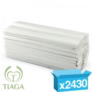 2ply white c-fold proTowel hand towels