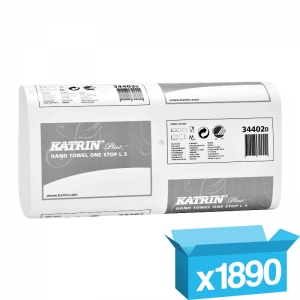 3ply white Katrin Luxury hand towels 344020