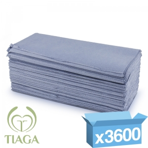 1ply blue interfold proTowel hand towels