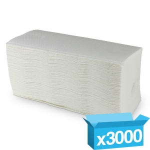 2ply white Premium interfold hand towels