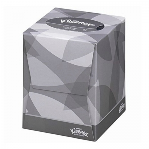Kleenex 2ply white facial tissues cube