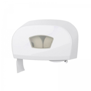 Twin dispenser for micro jumbo/conventional toilet rolls