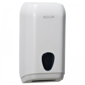 Katrin dispenser for white z-fold hand towels