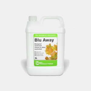 Blu Away bio-active washroom cleaner concentrate