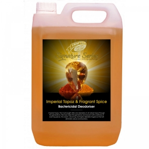 Craftex Imperial Topaz and Fragrant Spice bact deodoriser