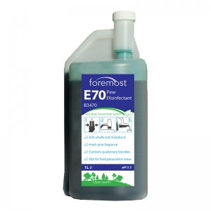 E7 Eco-Dose Pine Disinfectant Concentrate 1 litre