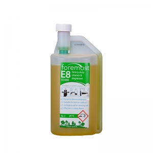 E8 Eco-Dose Heavy Duty Degreaser concentrate