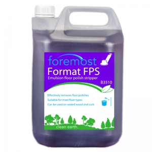 B3510 Format FPS Floor polish stripper  Unlocks metallised emulsion polish, making removal easy. Effective, heavy duty detergent - ideal for all hard surface scrub cleaning jobs. Penetrating action rapidly loosens dirt and heavy build-ups.  Recommended for use with all scrubbing machines.Exact equivalent to Selstrip Selden, F001, F01, Selstrip, Dymastrip 5lt
