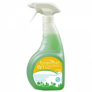 W1 Washroom Cleaner and Descaler ready to use - single