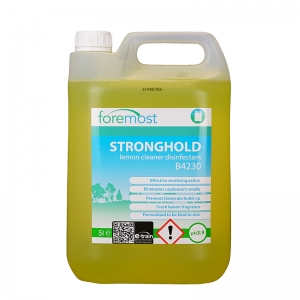 Stronghold disinfectant cleaner lemon 5lt