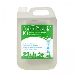 K1 Concentrated catering cleaner sanitiser - was Formula 40
