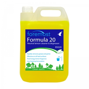 Formula 20 lemon neutral cleaner degreaser