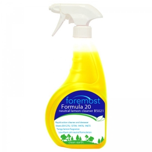 Formula 20 lemon cleaner trigger spray - single