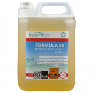 Formula 50 heavy duty caustic oven & drain cleaner