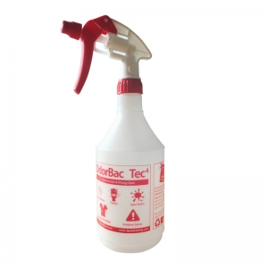 Red empty triggersprayer for Odorbac tec4 cleaner deodoriser