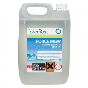 Force MGW machine glasswash