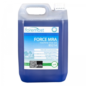 Force MRA machine rinse aid