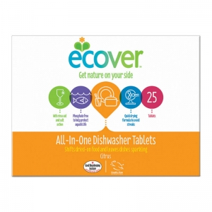 B5218E Ecover All in One Dishwasher tablets   25