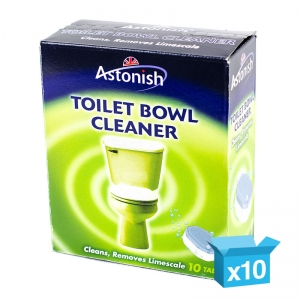 B5450 Descaling toilet bowl cleaner tablets   Box 10