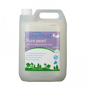 B7000 Pure Pearl antibac lotion soap  Bactericidal cleansing lather. Free from solvents, harsh chemicals, perfumes and dyes. soap, handwash, hand-wash, hand wash, liquid soap, C032, C32, bulk fill 5lt