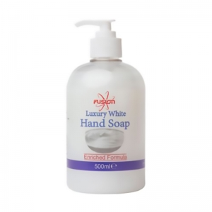 500ml antibac luxury white pump soap