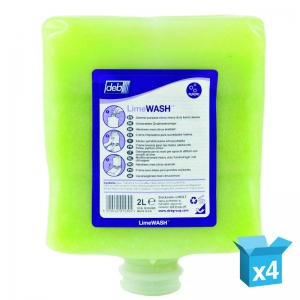 Deb Lime 2000 cartridge - case 4x2lt