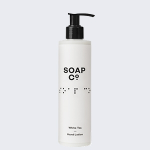 Soap Co Eco-friendly hand lotion White Tea - 300ml
