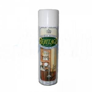 Heritage Beeswax furniture polish aerosol - single can