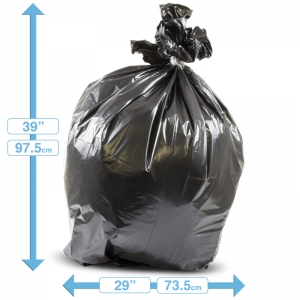 18x29x39 medium duty large refuse sacks