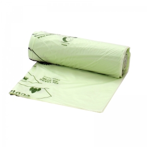 "Compostable 40lt liner 670x690 mm, 27x28"", 20 rolls"