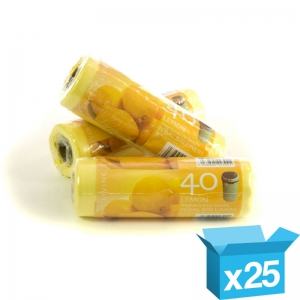 12x17.5x25 lemon scented pedal bin liners on rolls