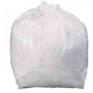 White Square Bin Liner super heavy