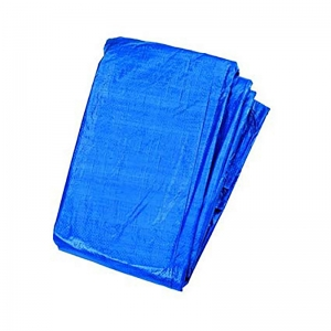 12x18 (4.0x6.0m) 80gm Blue poly tarpaulin