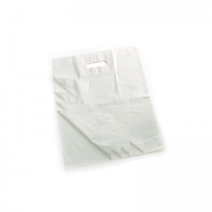 15x18x3 Patch handle carrier bags