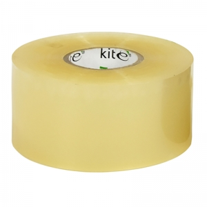 Clear extra long parcel tape single roll 150 metre