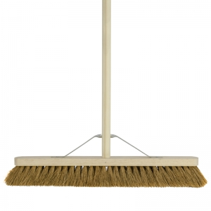 "24"" soft broom complete"
