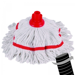Twister Hygiene banded mop head 250g Red