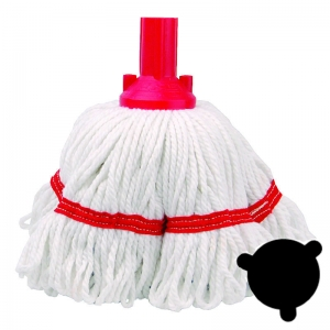 Trident Hygiene banded mop head 250g Red
