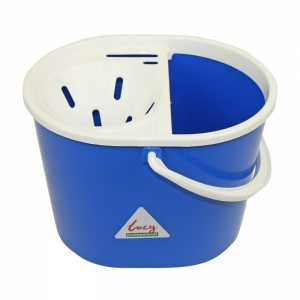 Lucy oval mopstrainer bucket Blue