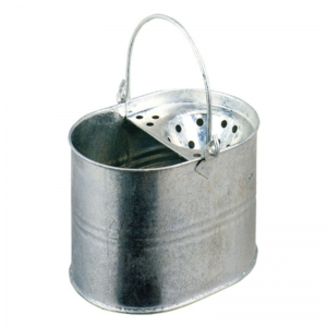Galvanised Strainer type mop bucket