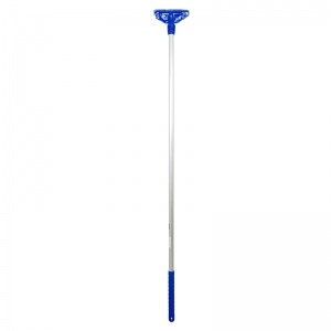 Kentucky mop handle fully ccoded plast. Ftng blue