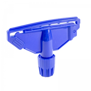 Blue Clip for Kentucky mop handle fully c-coded plastic