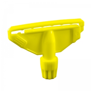 Yellow Clip for Kentucky mop handle fully c-coded plastic