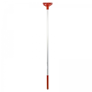 Kentucky mop handle fully ccoded plast. Ftng red