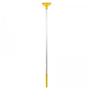 Kentucky mop handle fully ccoded plast. Ftng yellow